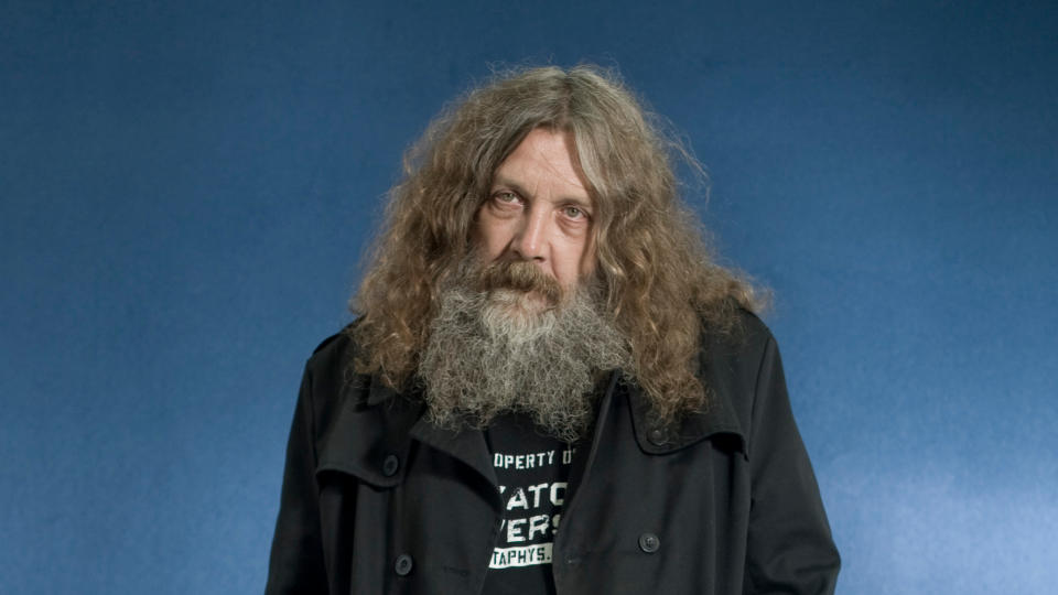 Alan Moore, pictured at the Edinburgh International Book Festival in 2010. (Photo by Colin McPherson/Corbis via Getty Images)