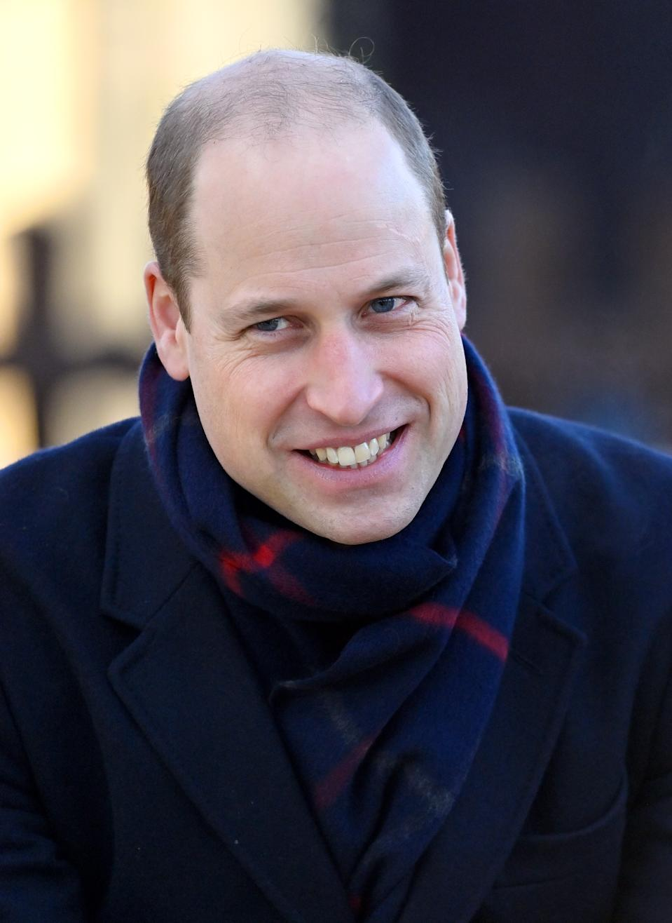 CARDIFF, UNITED KINGDOM - DECEMBER 08: (EMBARGOED FOR PUBLICATION IN UK NEWSPAPERS UNTIL 24 HOURS AFTER CREATE DATE AND TIME) Prince William, Duke of Cambridge visits Cardiff Castle on December 8, 2020 in Cardiff, Wales. The Duke and Duchess of Cambridge are undertaking a short tour of the UK, using the Royal train, ahead of the Christmas holidays to pay tribute to the inspiring work of individuals, organisations and initiatives across the country that have gone above and beyond to support their local communities during the coronavirus pandemic. (Photo by Pool/Max Mumby/Getty Images)