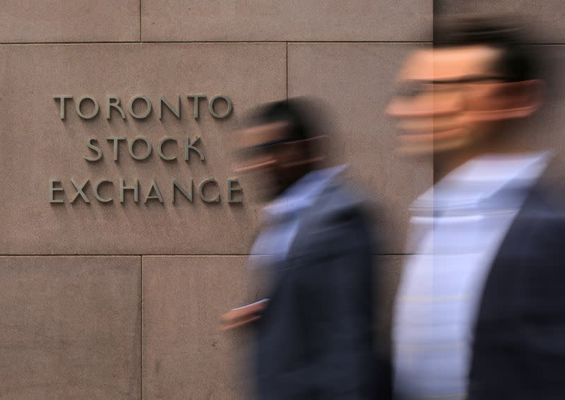 Canada's TSX slumps to eight-year low, loonie falls as virus spreads