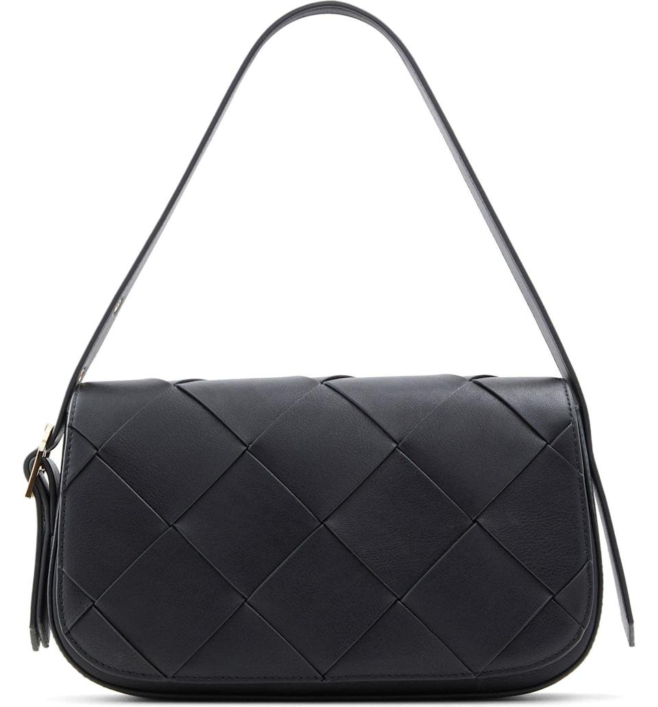 <p>This <span>Who What Wear Harper Woven Shoulder Bag</span> ($80) is a classic. It's always a good choice.</p>