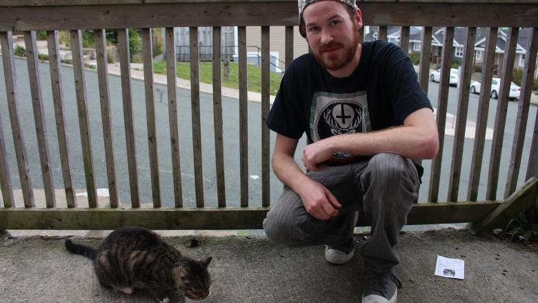The king of downtown St. John's is a cat named Sid