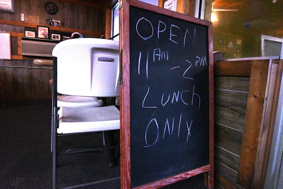 Wildlife Restaurant and Grill in Southport, N.C., has been open for 25 years. [KEN BLEVINS/STARNEWS]
