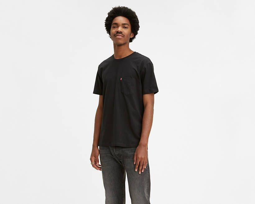 """<p><strong>Levi's</strong></p><p>levi.com</p><p><strong>$11.99</strong></p><p><a href=""""https://go.redirectingat.com?id=74968X1596630&url=https%3A%2F%2Fwww.levi.com%2FUS%2Fen_US%2Fclothing%2Fmen%2Fshirts%2Fsunset-pocket-tee-shirt%2Fp%2F298130011&sref=https%3A%2F%2Fwww.esquire.com%2Fstyle%2Fmens-fashion%2Fg32945302%2Flevis-summer-sale%2F"""" rel=""""nofollow noopener"""" target=""""_blank"""" data-ylk=""""slk:Buy"""" class=""""link rapid-noclick-resp"""">Buy</a></p><p>A pocket tee to store all the savings you're walking away with. </p>"""