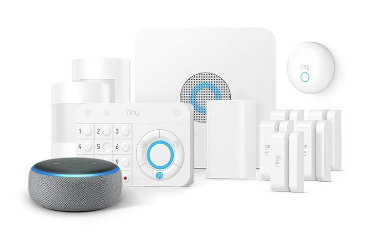amazon slashes prices on echo ring fire tv and blink devices alarm 11 piece with smoke co kit dot