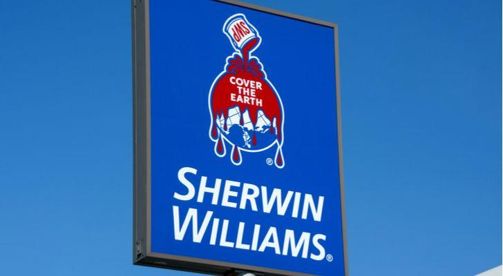 Stocks Hitting All-Time Highs: Sherwin-Williams (SHW)