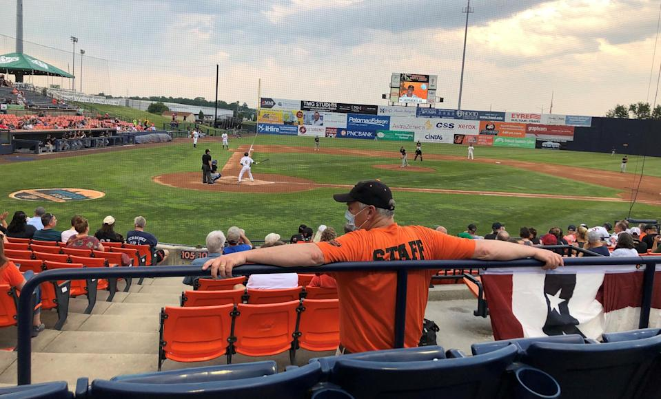 The Frederick Keys returned to play for the first time since 2019, although much about the experience on and off the field was different.