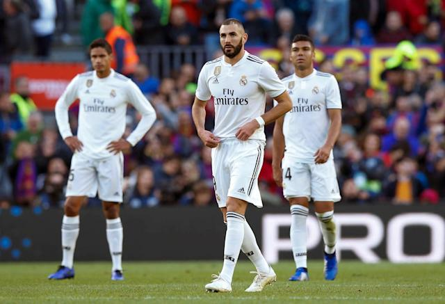Diminishing returns: 30-year-old Benzema has failed to reach the heights expected of him recently