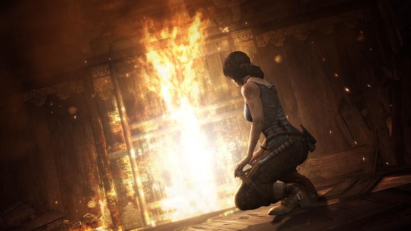 "FILE - This publicity photo released by Crystal Dynamics/Square Enix shows a scene from the video game, ""Tomb Raider."" (AP Photo/Crystal Dynamics/Square Enix)"