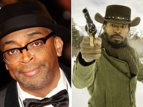"Spike Lee boycotts ""Django"""