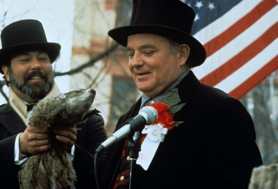"<p>In <em>Groundhog Day, </em>Brian Doyle-Murray plays groundhog wrangler Buster Green, but he had previously worked with his older brother on <em>Saturday Night Live, <a href=""https://www.amazon.com/Caddyshack-Chevy-Chase/dp/B003CRM6PA?tag=syn-yahoo-20&ascsubtag=%5Bartid%7C2164.g.35217692%5Bsrc%7Cyahoo-us"" rel=""nofollow noopener"" target=""_blank"" data-ylk=""slk:Caddyshack"" class=""link rapid-noclick-resp"">Caddyshack</a>, </em>and <em><a href=""https://www.amazon.com/Ghostbusters-II-Bill-Murray/dp/B000T46NVM?tag=syn-yahoo-20&ascsubtag=%5Bartid%7C2164.g.35217692%5Bsrc%7Cyahoo-us"" rel=""nofollow noopener"" target=""_blank"" data-ylk=""slk:Ghostbusters II"" class=""link rapid-noclick-resp"">Ghostbusters II</a>. </em>Yep, he's related to Bill Murray! To avoid confusion with the Tony-winning actor Brian Murray, he adopted his grandmother's maiden name Doyle as well.</p>"