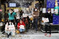"""Spain's Christmas Lottery """"El Gordo"""" (The Fat One) in Madrid"""