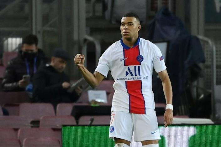 Kylian Mbappe has scored seven times in seven games against his old club Monaco since signing for Paris Saint-Germain