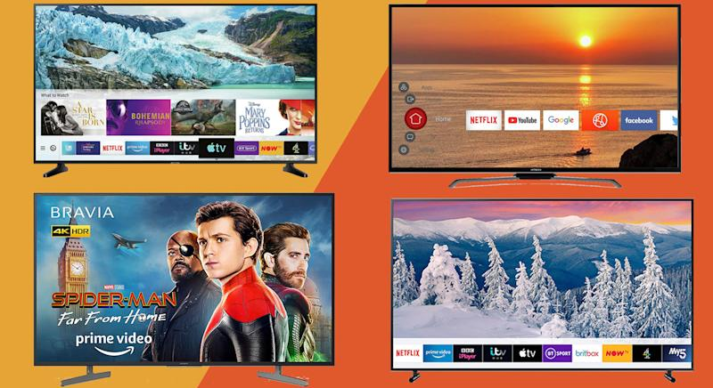 There's a TV to suit every budget this Black Friday. [Photo: Yahoo Style UK]