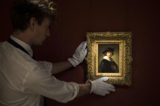 Sotheby's hold virtual sale of art from Rembrandt to Banksy
