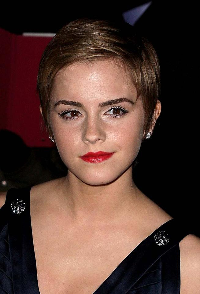 """<p class=""""MsoNoSpacing"""">Emma Watson's porcelain skin is no hocus pocus. The 21-year-old """"Harry Potter"""" star has admitted to battling blemishes in the past, but credits organic products for smoothing out her complexion.</p>"""