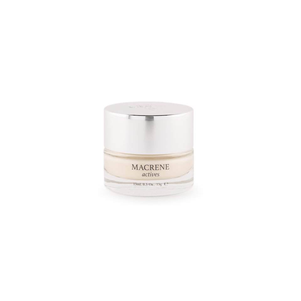 """<p><strong>Macrene Actives </strong></p><p>macreneactives.com</p><p><strong>$125.00</strong></p><p><a href=""""https://macreneactives.com/products/high-performance-face-cream"""" rel=""""nofollow noopener"""" target=""""_blank"""" data-ylk=""""slk:Shop Now"""" class=""""link rapid-noclick-resp"""">Shop Now</a></p><p>""""As we re-enter the world, I want to make sure my skin is glowing and radiant! To achieve that, I'll be using Macrene Actives High Performance Cleanser and Face Cream. The clean, plant-based formulas solve most skin issues and give me a feeling of a post-facial glow (without the actual facial).""""<em>—MaryKate Boylan, Senior Fashion Editor</em></p>"""