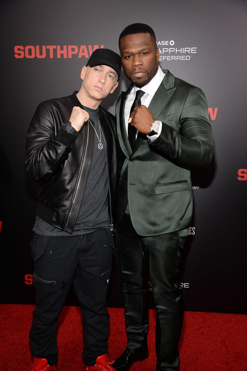 "With 50 Cent at the ""Southpaw"" in New York, New York."
