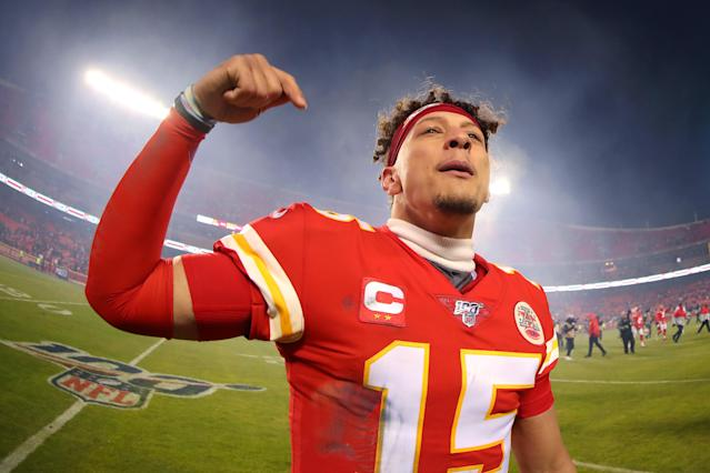 Patrick Mahomes has a chance to break Kansas City's long Super Bowl drought. (Photo by Tom Pennington/Getty Images)