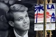 Bobby Kennedy was once the great hope of a divided Democratic Party (AFP/MIKE NELSON)