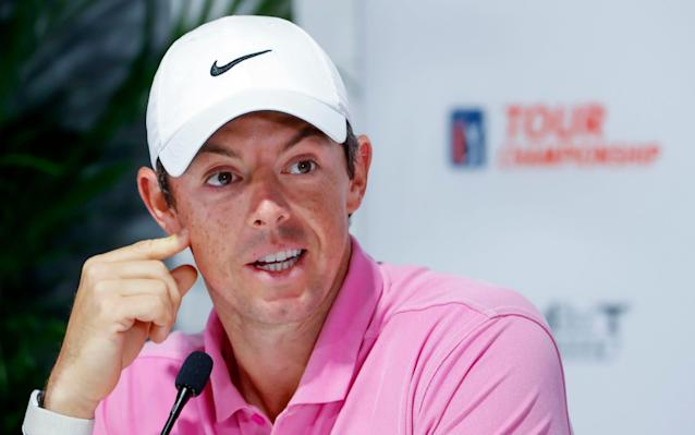 Rory McIlroy has publicly criticised how the FedEx Cup is run - REX