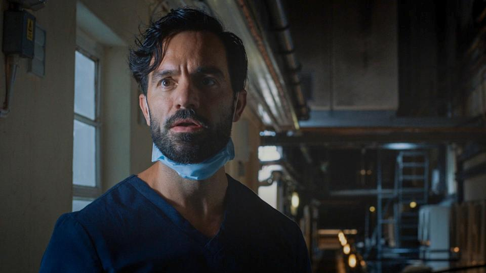 Programme Name: Holby City - TX: 05/01/2021 - Episode: Holby City S22 - Ep32 (No. n/a) - Picture Shows:  Kian Madani (RAMIN KARIMLOO) - (C) BBC - Photographer: Screengrab