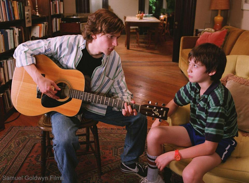 <p>Jeff Daniels and Laura Linney are NYC writers whose crumbling marriage leads to all manner of familial dysfunction—including for their two sons (Jesse Eisenberg and Owen Kline)—in Noah Baumbach's acclaimed 2005 indie.</p>