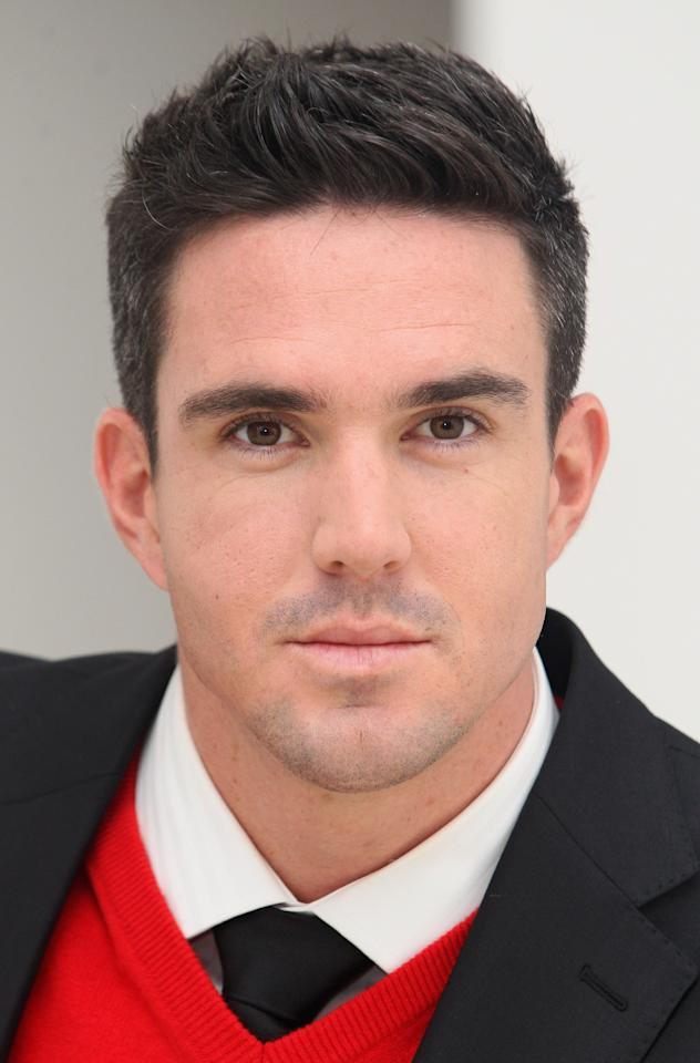 LONDON, ENGLAND - SEPTEMBER 29:  Kevin Pietersen is unveiled as the new face of Brylcreem on September 29, 2009 in London, England.  (Photo by Danny Martindale/WireImage)