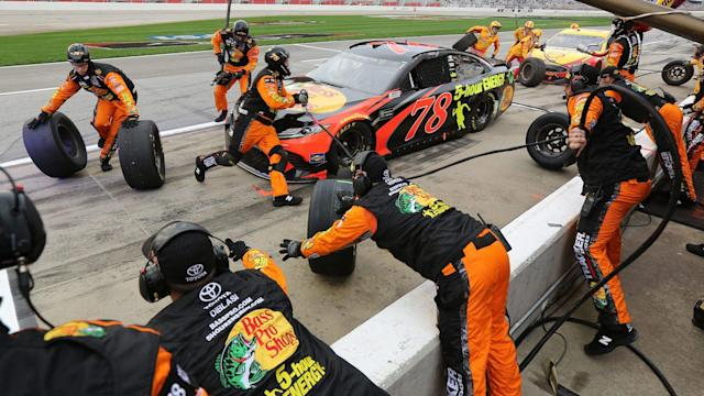 No. 78 Toyota and at least three other teams experienced problems with NASCAR-issued equipment at Atlanta.