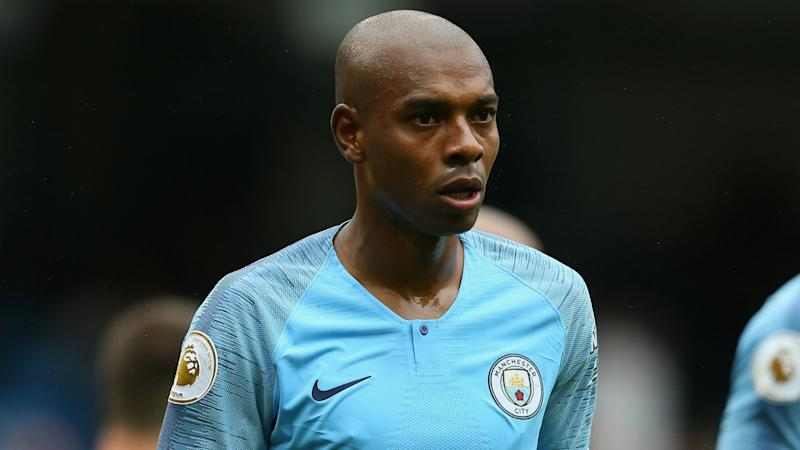 Man City's Fernandinho misses Burnley clash