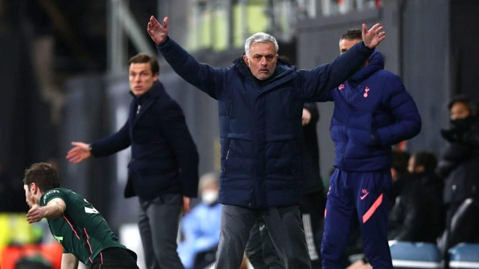 José Mourinho a Craven Cottage | Clive Rose/Getty Images