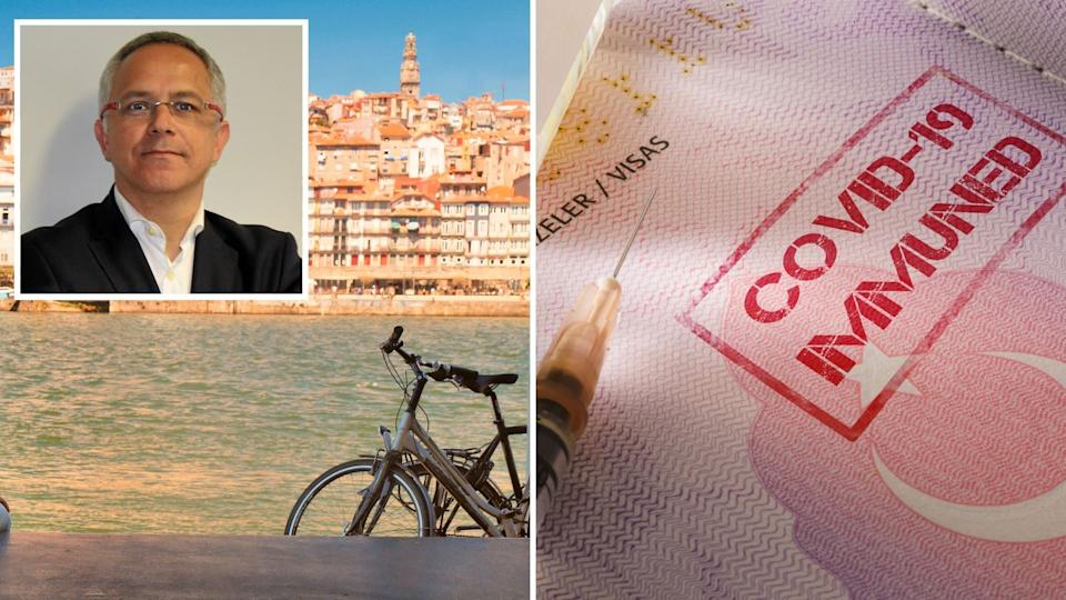 Sérgio Guerreiro is an expert on the future of tourism. Here's what he thinks will happen next. Images: Supplied, Getty