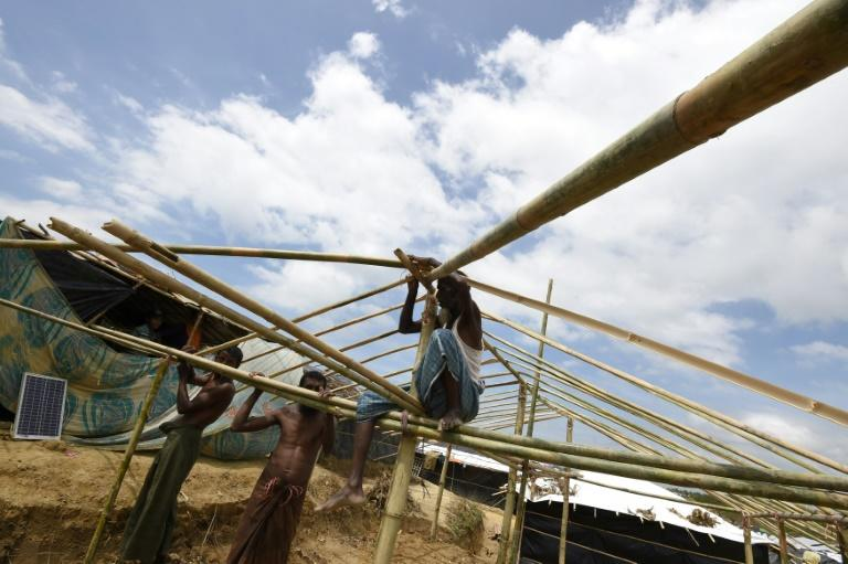 Almost nothing has been set up for arrivals at the newly-expanded camp housing refugees from Myanmar known as Kutupalong Extension in Bangladesh's Ukhia district