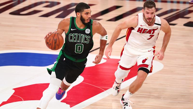 Celtics vs. Heat highlights: C's stay alive with 121-108 Game 5 win