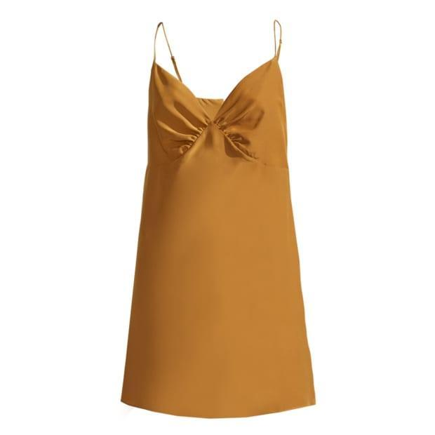 """<p>Not Just Pajama Vacation Silk Slip Dress, $378, <a href=""""https://rstyle.me/+HB259Oqc_6kAO22MWI3JgQ"""" rel=""""nofollow noopener"""" target=""""_blank"""" data-ylk=""""slk:available here"""" class=""""link rapid-noclick-resp"""">available here</a> (sizes S-L). </p>"""