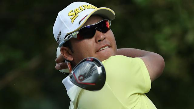 Still in contention at the US PGA Championship, Hideki Matsuyama said he felt the pressure in the third round at Quail Hollow.