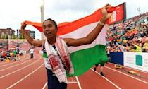 <p>19-year-old Hima from Assam has been nicknamed Dhing Express for her astonishing track record. The teen from Dhing has achievements too big for her years. The winner of World U-20 Championships 2018 – 400 meters, also holds Indian National Record in 400 meters won at the 2018 Asian Games and is India's first athlete to bring Gold from track event at the IAAF World U20 Championships. In September last year, she was conferred with the Arjuna Award. </p>