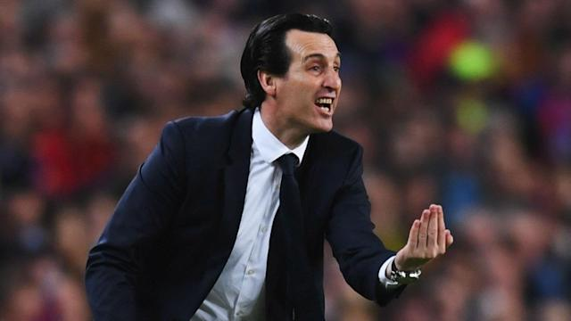 """Unai Emery insists he has not agreed to become the new head coach of Roma, insisting his focus is """"100 per cent towards PSG""""."""