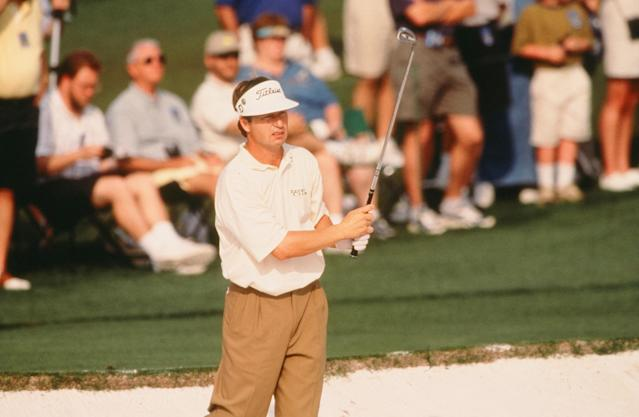 <p>Chamblee's known for his work behind the mic, yet he could swing the sticks back in his day. A 69 on Thursday gave Chamblee the first-round lead in the 1999 Masters, although he was eventually done in by a 75 on Saturday.</p>
