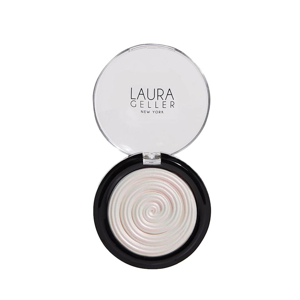 """""""I was hesitant to try this. Iridescent white doesn't really call to me as a highlighter, but boy was I wrong! One swipe on my cheekbones, and I can't stop staring at how it picks up the light! Hands down my favorite highlighter."""""""