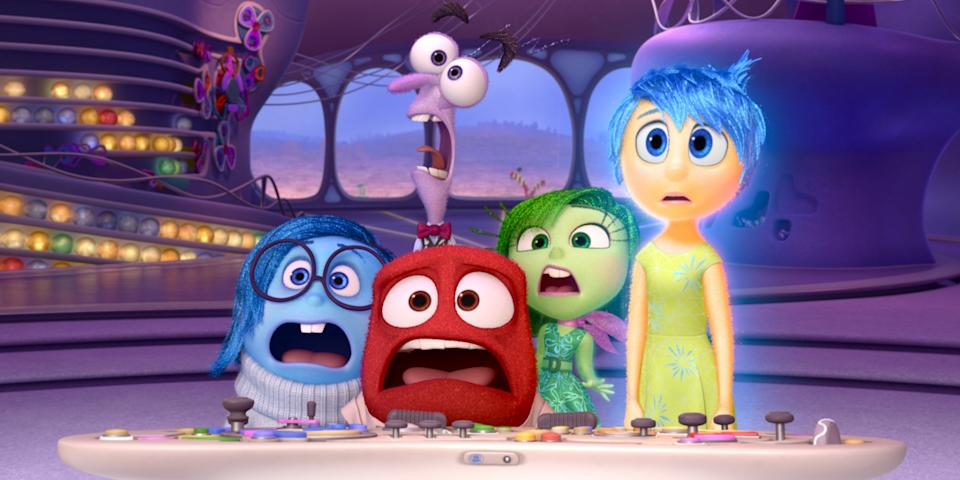'Inside Out' is one of the most interesting Pixar films to hit Disney+. (Credit: Pixar/Disney)