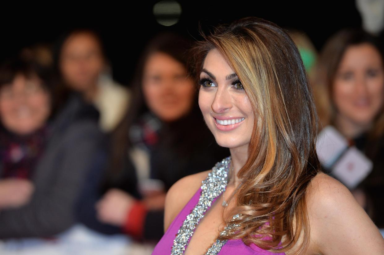 Luisa Zissman attends the 21st National Television Awards at The O2 Arena on January 20, 2016 in London, England.  (Photo by Anthony Harvey/Getty Images)