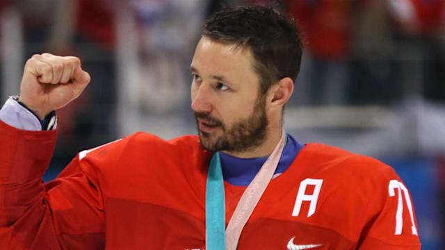 """The former Devils and Thrashers superstar still has """"gas in my tank"""" after an MVP performance leading the Olympic Athletes from Russia to an Olympic gold medal."""