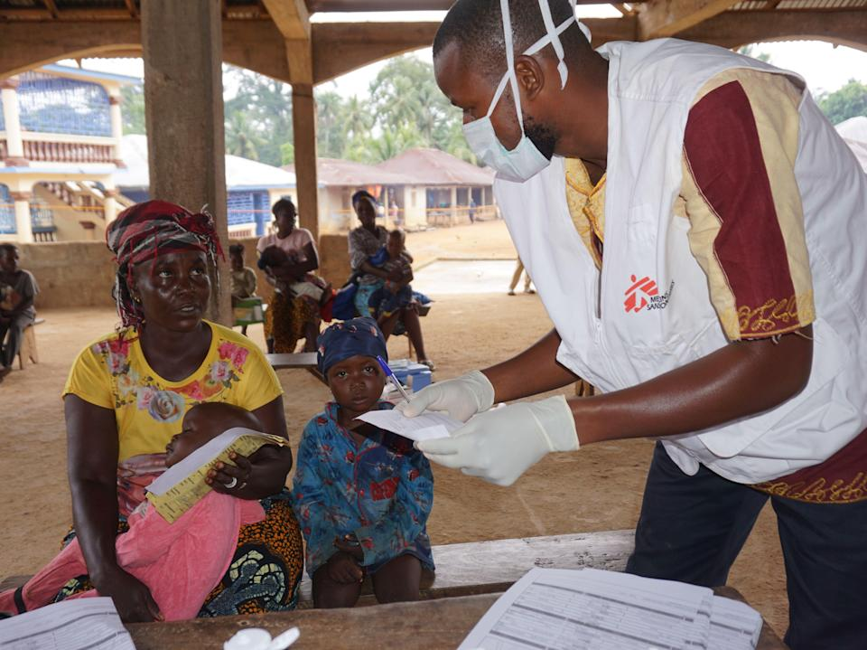 <p>The findings come from an ongoing phase two trial run in West Africa</p> (AFP via Getty Images)