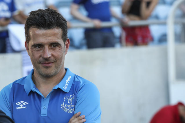 Marco Silva and Everton might be the Premier League's best hope when it comes to breaking up the Big Six. (Getty)