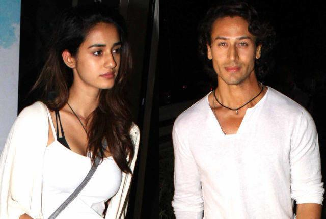 Tiger ShroffLinked with Disha Patani :He has been spotted with alleged girlfriend Disha Patani several times but doesn't mention a word about her. He turns all coy even if you mention the word 'dating'.