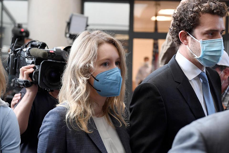 Theranos Founder Fraud Trial - Credit: Nic Coury/AP