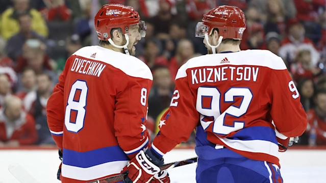 Alex Ovechkin, Evgeny Kuznetsov and Dmitry Orlov are heading to Russia to play in the 2019 IIHF World Championship.