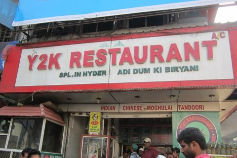 Filthy kitchen and stale meat: Hyderabad's Y2K restaurant sealed