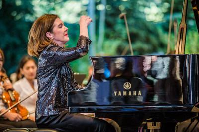The Bravo! Vail Music Festival and pianist Anne-Marie McDermott announce the extension of Ms. McDermott's Artistic Director contract through the 2023 season. Photo: Zach Mahone