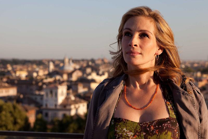 """""""There are things in the movie which everybody can relate to: trying to clarify your life and understand your own compass for where you want to go and who you want to be,"""" Julia Roberts has said of Eat Pray Love."""